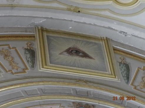 Imagini pentru ochiul lui horus masonerie pe bisericile ortodoxe