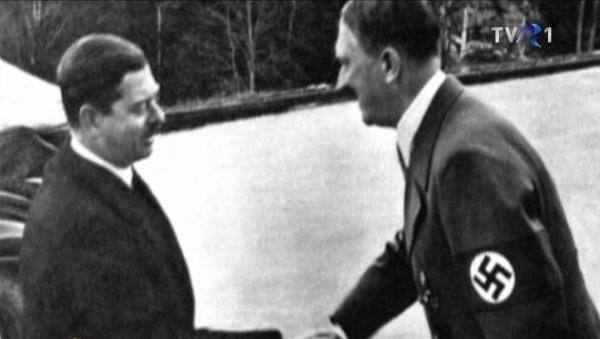 Scrisoarea lui Adolf Hitler către regele Carol al II-lea
